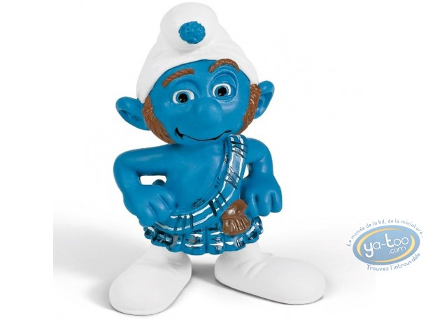 Plastic Figurine, Smurfs (The) : Reckless Smurf (movie version)