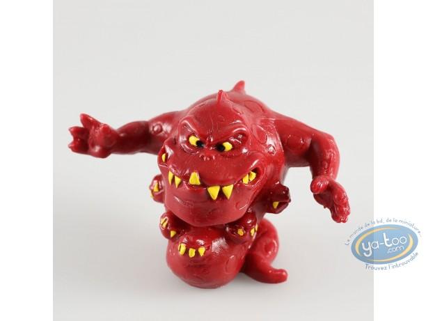Plastic Figurine, Snorkies (Les) : Fang' red monster.