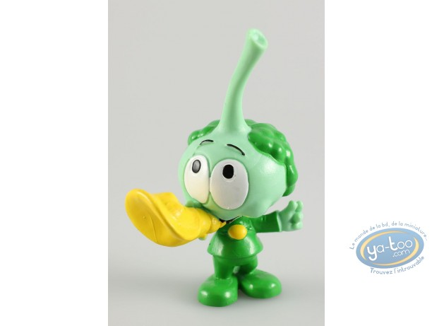 Plastic Figurine, Snorkies (Les) : Harpo' shell green Snork