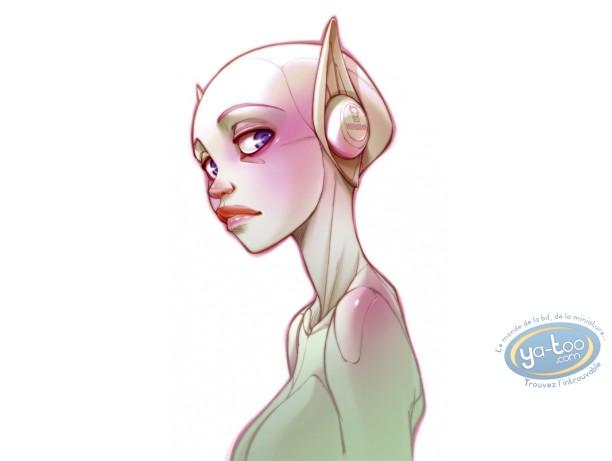 Offset Print, Sky Doll : Venusdea