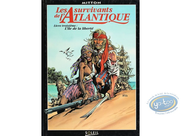 Listed European Comic Books, Survivants de l'Atlantique (Les) : l'Ile de la Liberte (good condition)