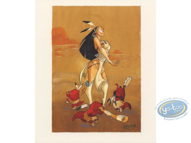 Bookplate Offset, Luuna : Luuna et les Pipintus