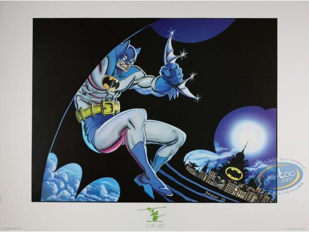 Offset Print, Batman : Batman