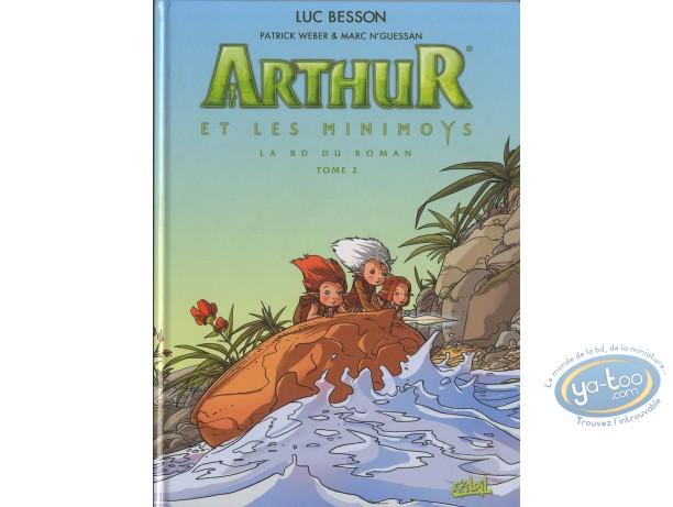 Reduced price European comic books, Arthur and the Invisibles : Arthur et les Minimoys