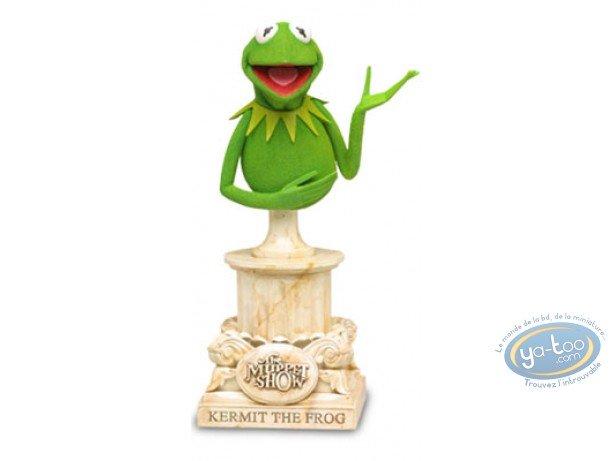 Resin Statuette, Muppet Show (Le) : Kermit bust
