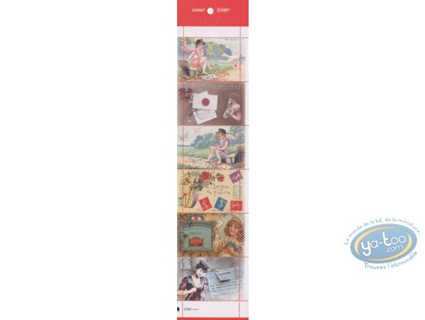 Stamp, Messages Timbrés : 6 Stamps Sheet