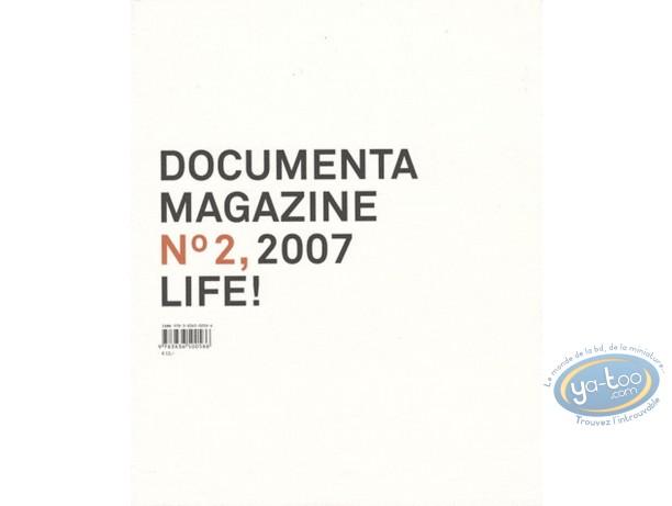 Book, Documenta N°2, 2007 Life !