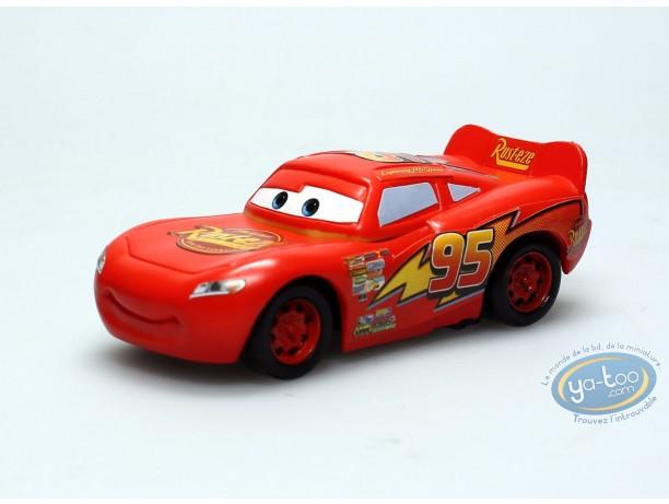 Plastic Figurine, Cars : Flash Mc Queen