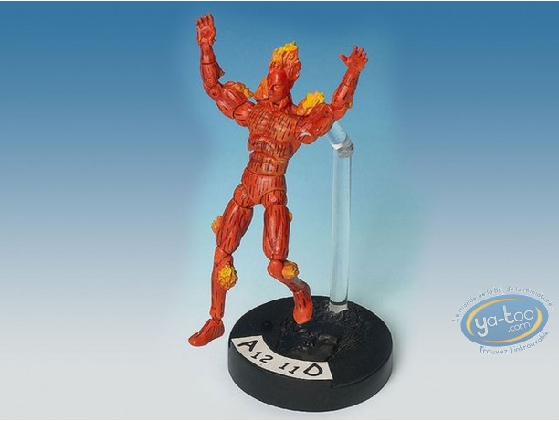 Action Figure, Fantastic Four : Human Torch