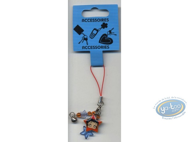 Mobile Accessory, Betty Boop : GSM pendant : Betty Boop 'Mini'.
