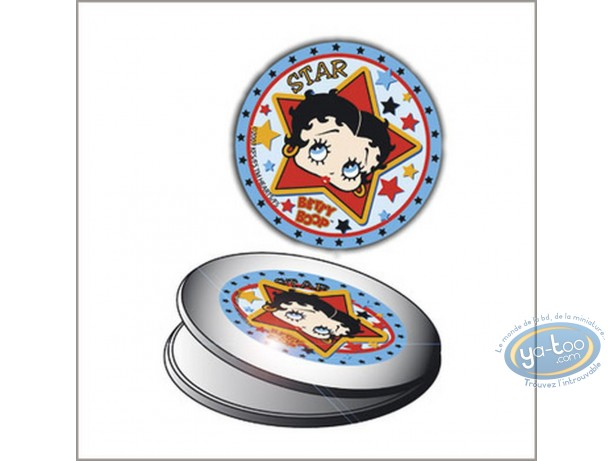 Fashion and beauty, Betty Boop : Looking-glass : Betty Boop 'Star'