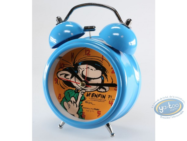 Clocks & Watches, Gaston Lagaffe : Little alarm clock, Gaston Lagaffe
