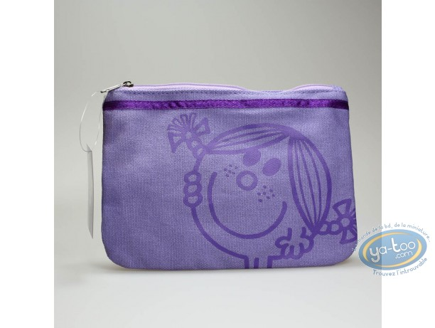 Luggage,  Mr. Men and Little Miss : Toilet bag, Little Miss Sunshine : Purple