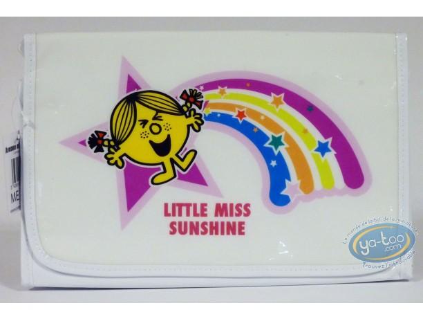 Luggage,  Mr. Men and Little Miss : Vinyl kit, Little Miss Sunshine (rainbow)