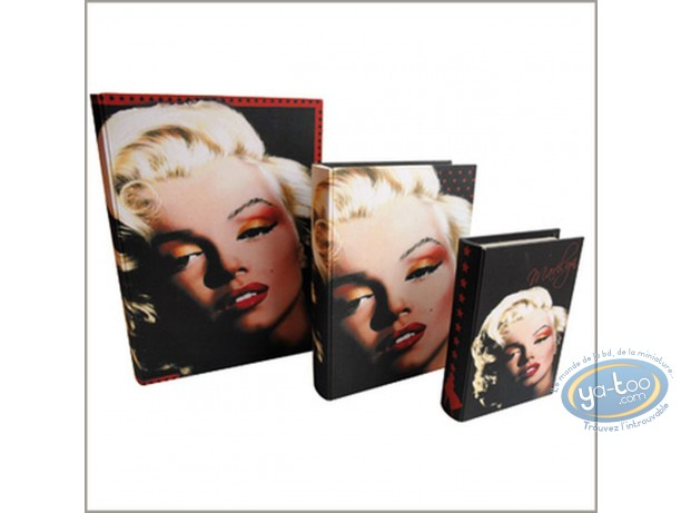 Office supply, Marilyn Monroe : Set of 3 pull-out books Marilyn Monroe