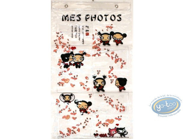 Photo Frame, Pucca : PVC photo frame : Pucca