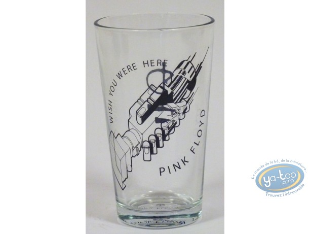 Tableware, Pink Floyd : Glass in box, Pink Floyd Wish You Were Here