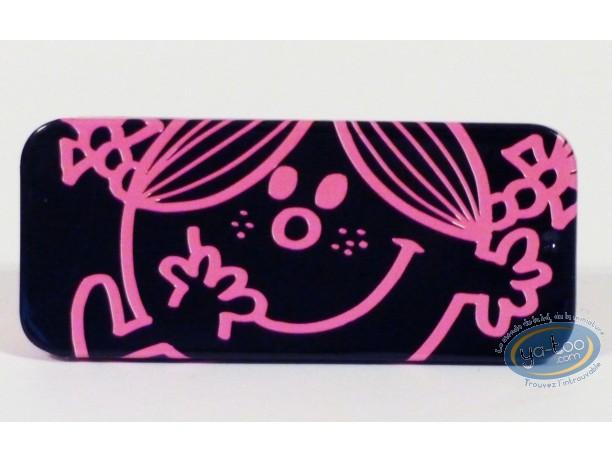 Box,  Mr. Men and Little Miss : Little drugs box, Little Miss Sunshine (black/pink)