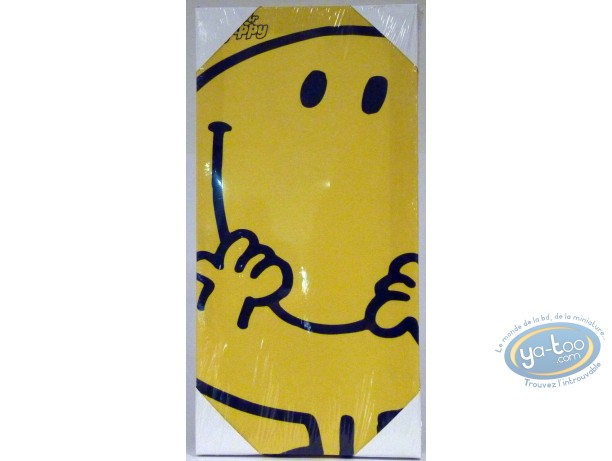 Deco,  Mr. Men and Little Miss : Under canvas, Mr Happy 20X40