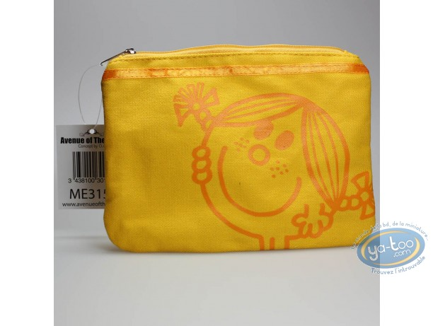 Luggage,  Mr. Men and Little Miss : Toilet bag, Little Miss Sunshine : Yellow