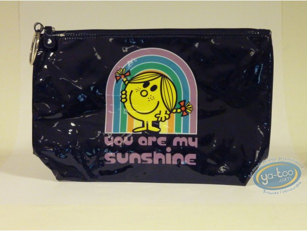 Luggage,  Mr. Men and Little Miss : Tall vinyl kit, Little Miss Sunshine : You are... (black)