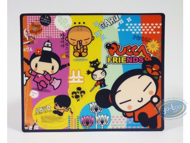 Office supply, Pucca : Mouse pad, Pucca : Friends