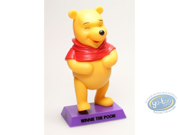 Plastic Figurine, Winnie the Pooh : Winnie, Disney