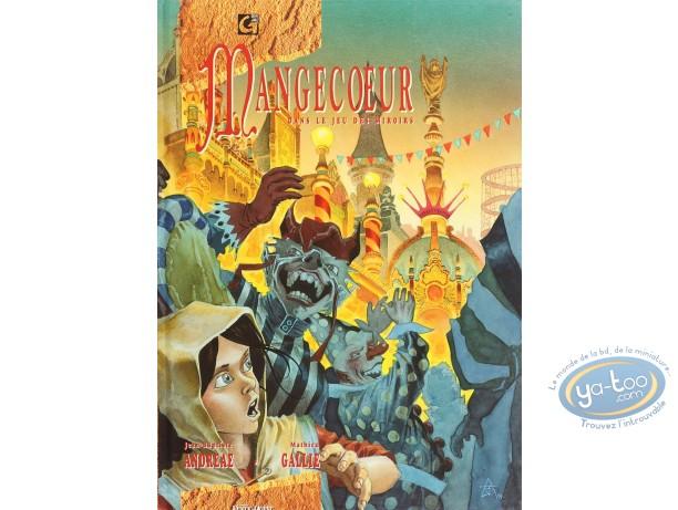 Listed European Comic Books, Mangecoeur : Dans le jeu des miroirs