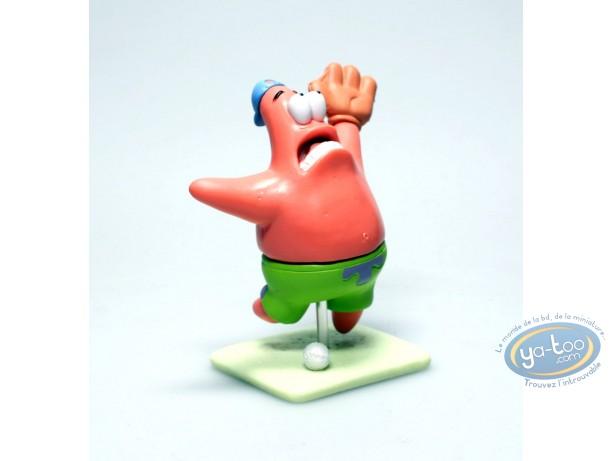 Plastic Figurine, Sponge Bob : Patrick Base-Ball