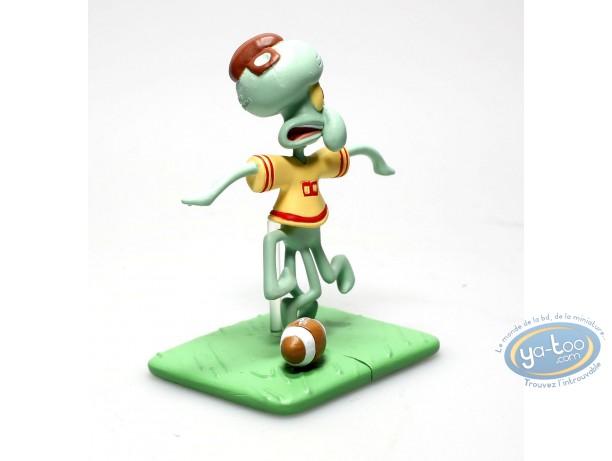 Plastic Figurine, Sponge Bob : Carlo Rugby