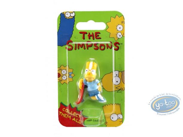 Plastic Figurine, Simpson (Les) : Bart skate