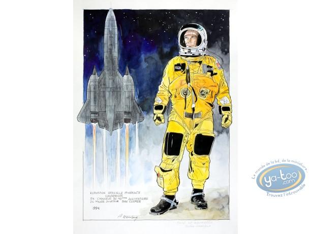 Aquarelle, Dan Cooper : Spacesuit