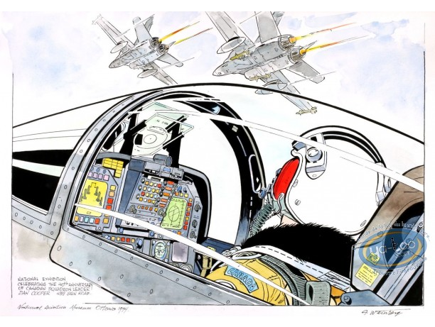 Aquarelle, Dan Cooper : Squadron 4