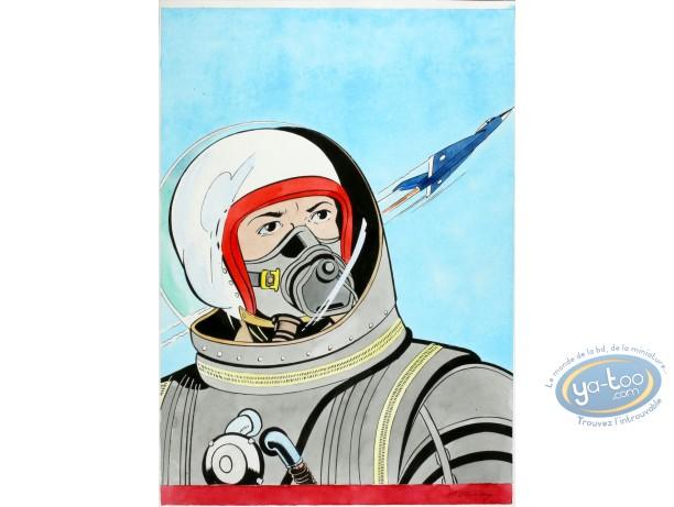 Aquarelle, Dan Cooper : Cosmonaut 2