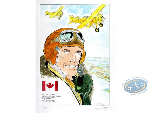 Aquarelle, Dan Cooper : Dan Cooper & Yallow Planes 2