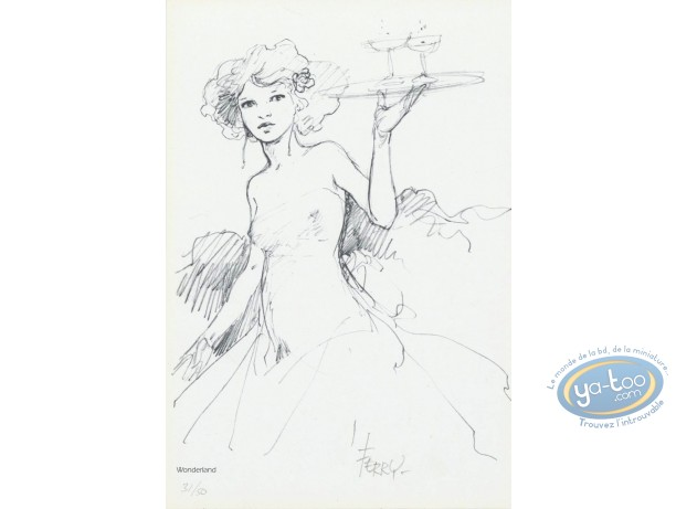 Bookplate Offset, Chroniques de Panchrysia (Les) : Waitress