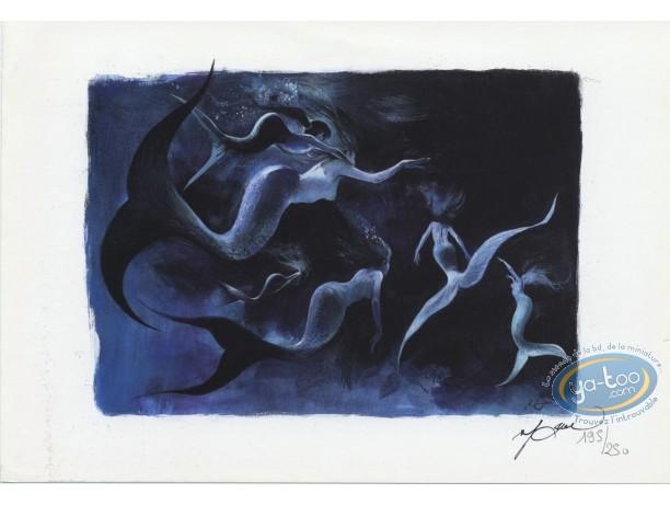 Bookplate Offset, Mermaids