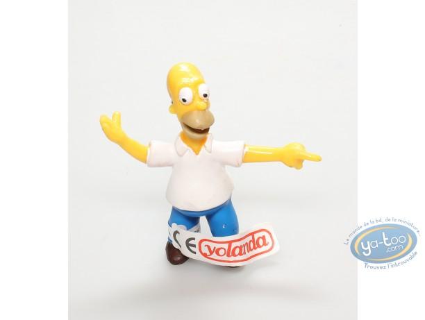 Plastic Figurine, Simpson (Les) : Homer Simpson