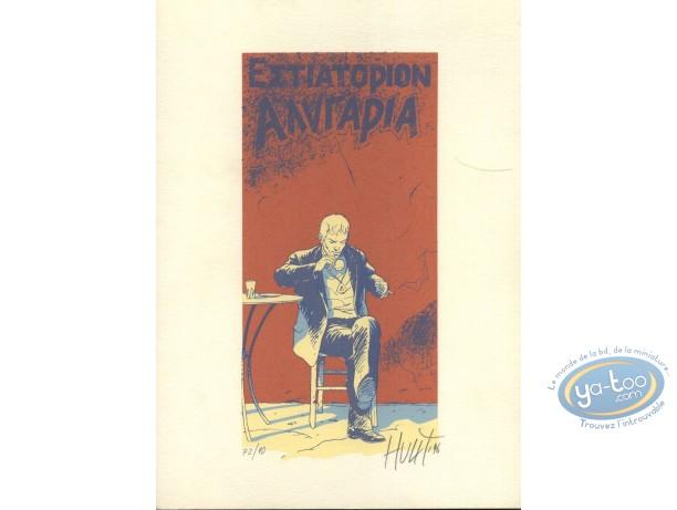 Bookplate Serigraph, Chemins de la Gloire (Les) : Coffee