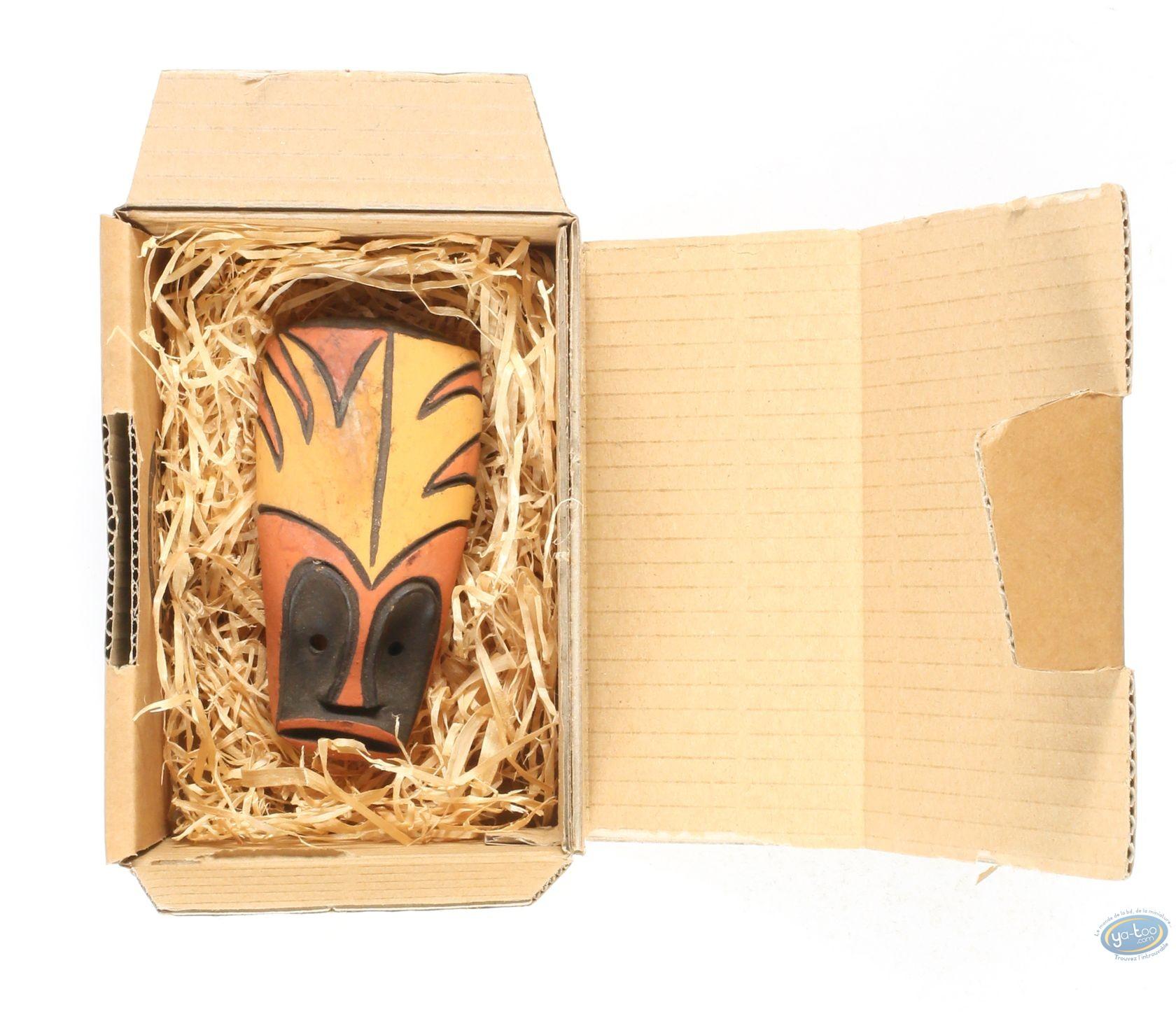 Resin Statuette, Djinn :  African Mask : Djinn 1