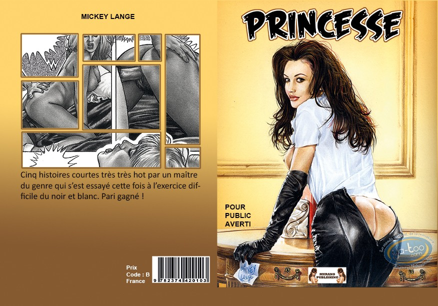 Adult European Comic Books, Princesse