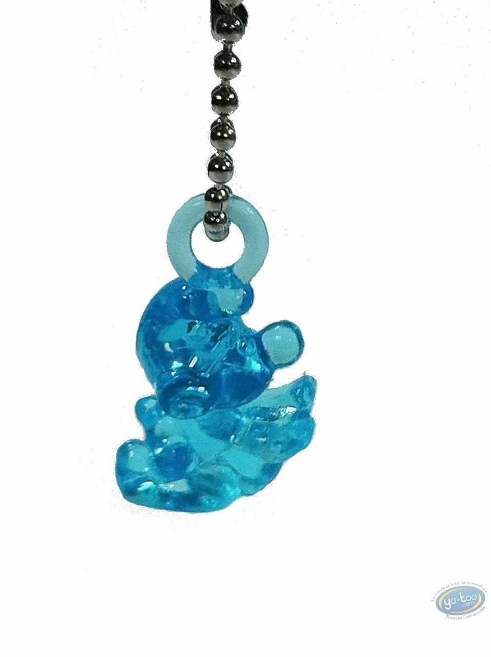 PVC Keyring, Smurfs (The) : Smurfs translucide blue