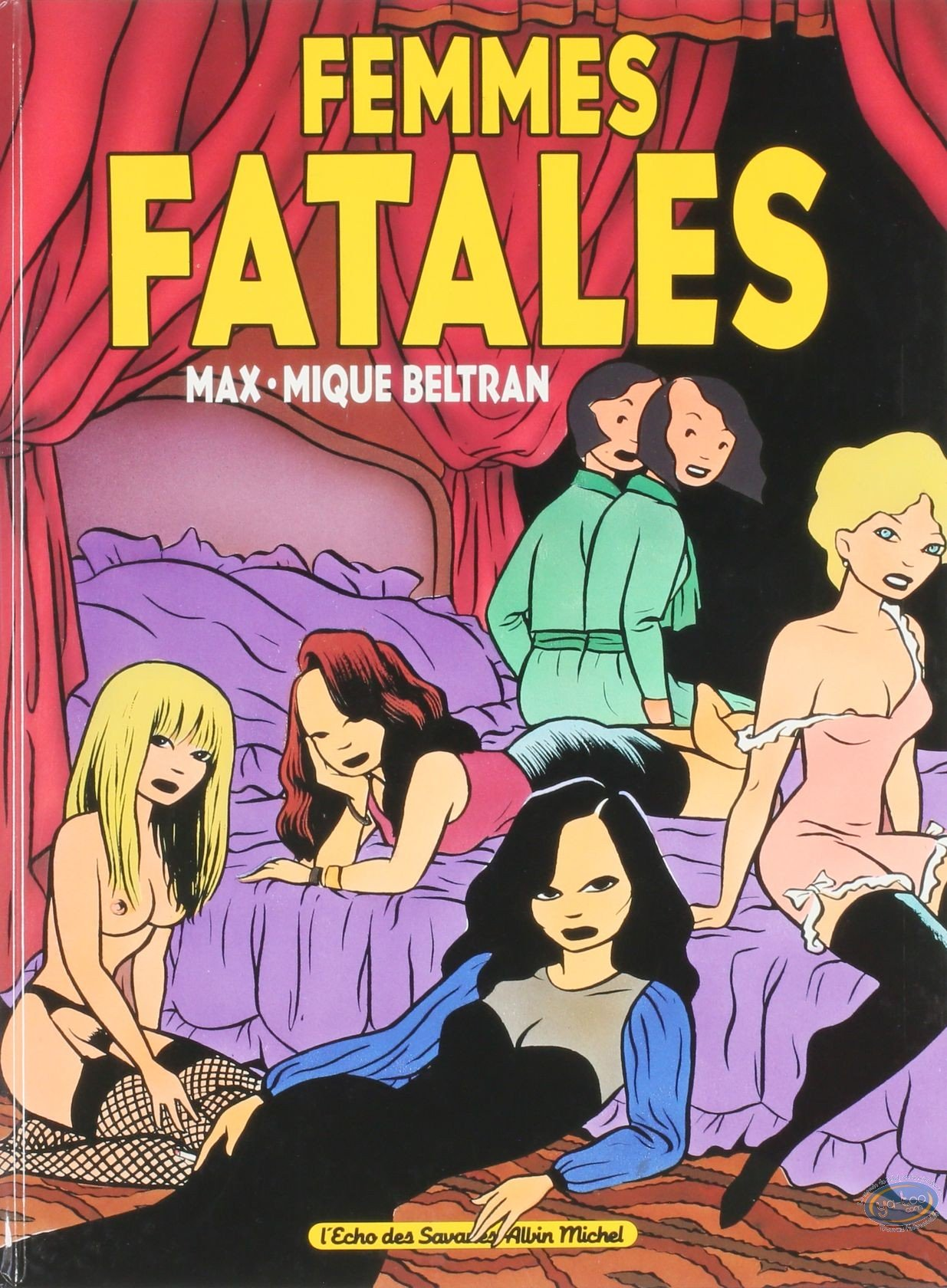 Adult Cartoon Comics adult european comic books, femmes fatales : femmes fatales
