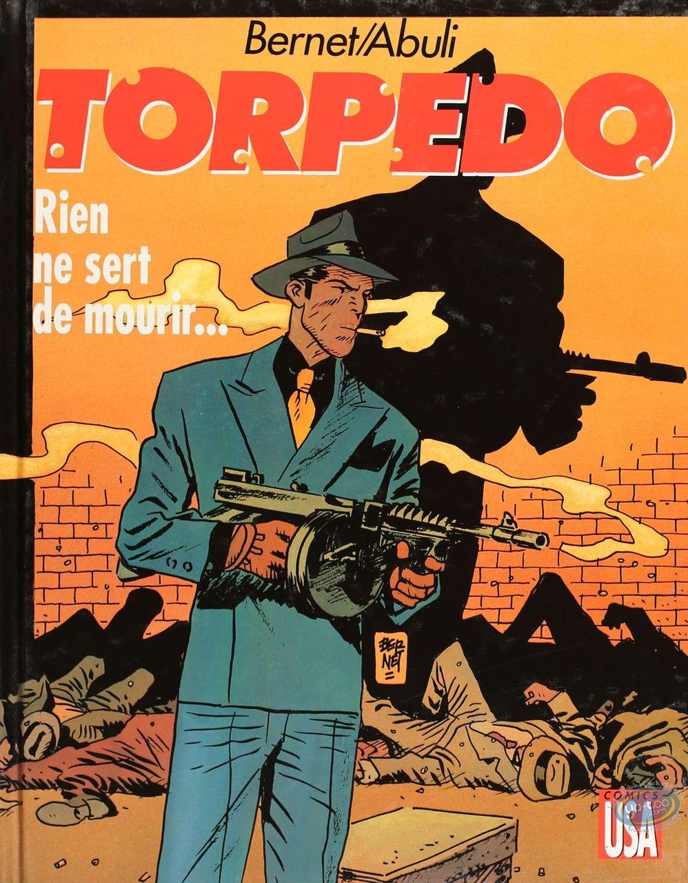 Listed European Comic Books, Torpédo : Rien ne sert de mourir... (good condition)