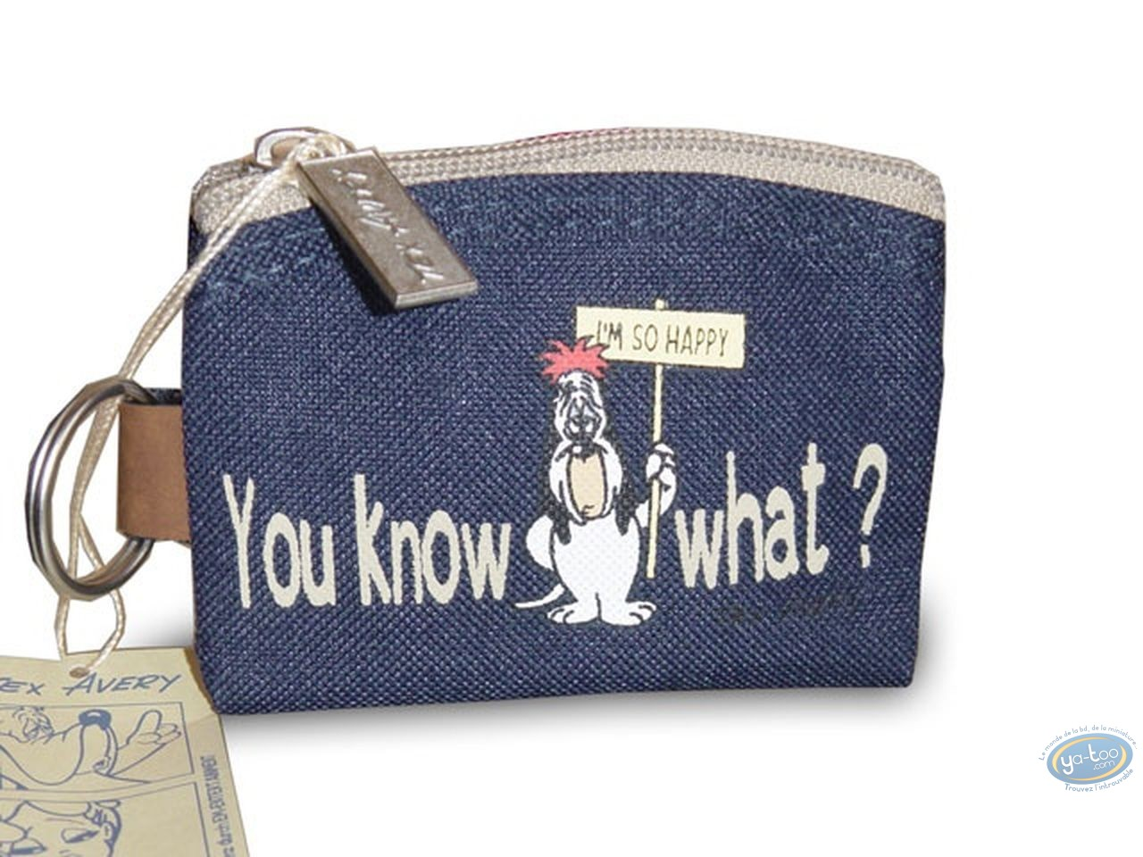 Luggage, Droopy : Droopy blue purse
