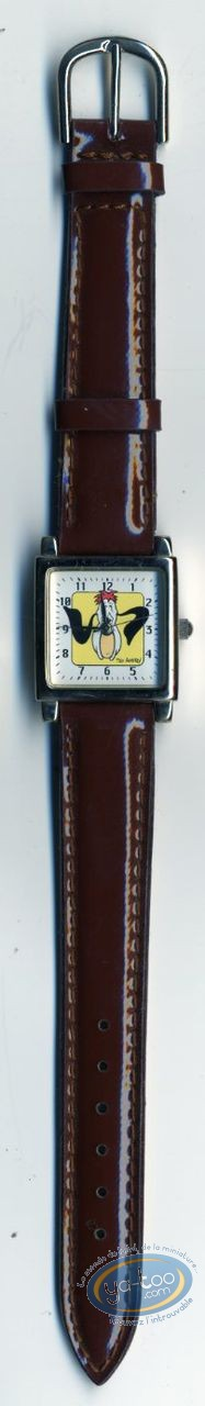 Clocks & Watches, Droopy : Woman Watch Tex Avery Droopy leather strap