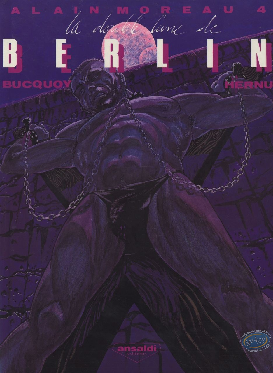 Adult European Comic Books, Alain Moreau T4 - La double lune de Berlin