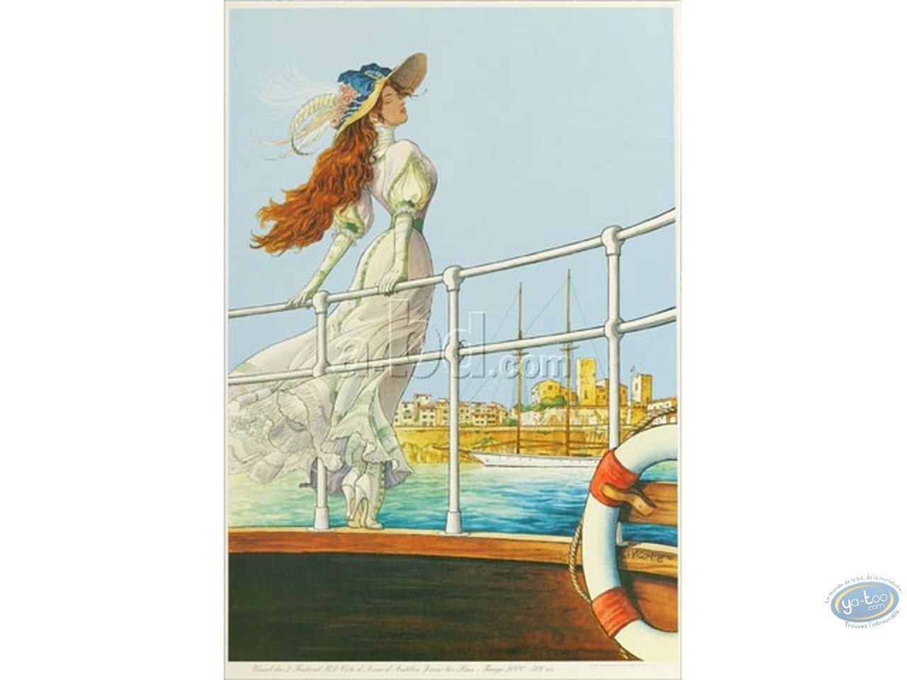 Offset Print, Sasmira : Sasmira in Antibes