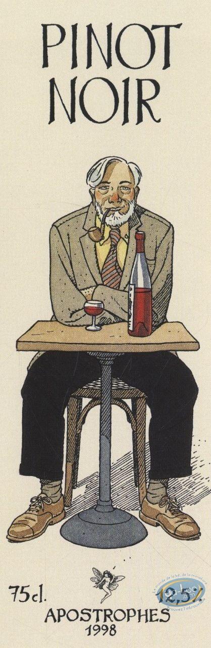 Wine Label, Blake and Mortimer : Blake & Mortimer - Pinot noir 1998