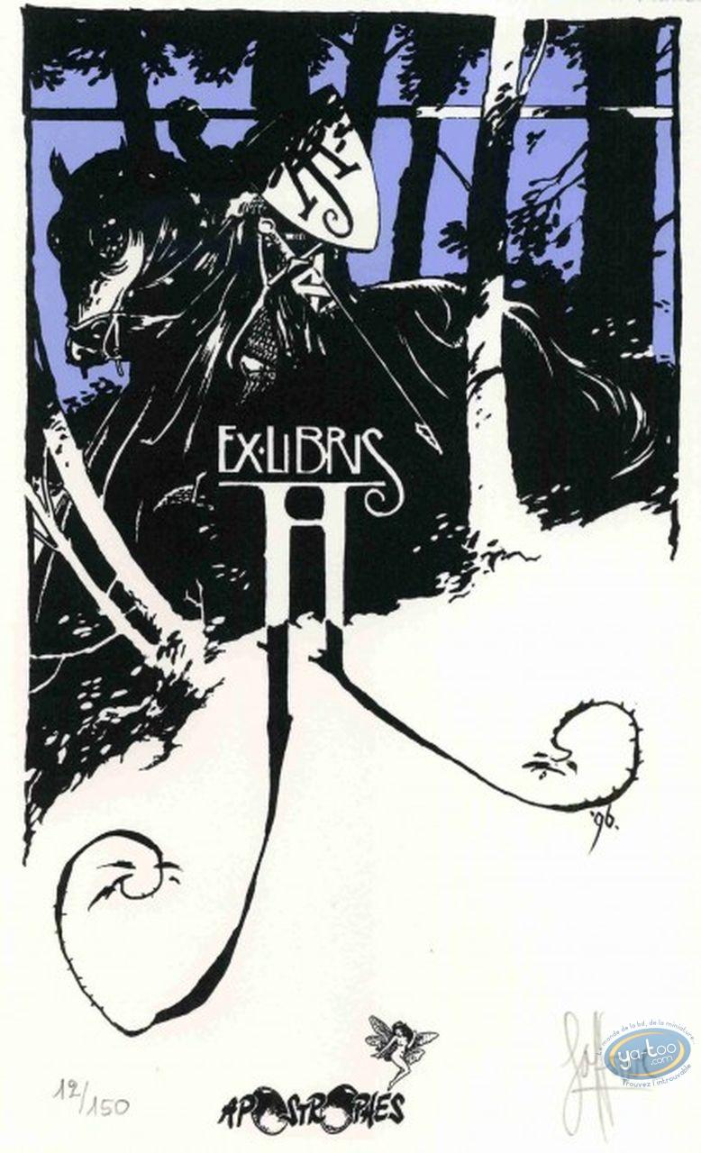 Bookplate Serigraph, Knight